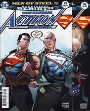 ACTION COMICS: REBIRTH #967,968,969,970,971,972 DC Superman Man MEN OF STEEL Set