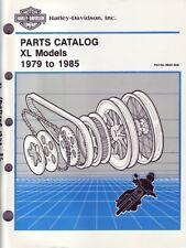 HARLEY-DAVIDSON Teilebuch Ironhead Sportster XL 1979-1985 Buch Katalog 99451-85A