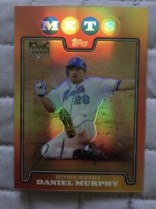 2009 Topps - Baseball Card Daniel Murphy - Wal-Mart Black #182 Base