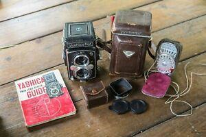 Yashica Mat - Medium Format Film Camera - Spares & Repairs - Extras Included