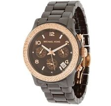 Michael Kors MK5517 Wrist ceramic brown  Watch for Women