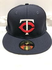 Minnesota Twins 1961 MLB New Era Cooperstown Collection 59FIFTY Fitted Hat-Blue