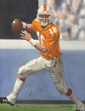 PEYTON MANNING TENNESSEE VOLUNTEERS ART PRINT #2