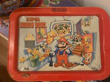 1989 Nintendo Super Mario Bros. collectible serving tray with Mario Plate