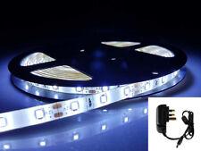 12V 5M luce a LED Striscia Adattatore 300xSMD3528 Nastro Nastro Cool Bianco in armadio