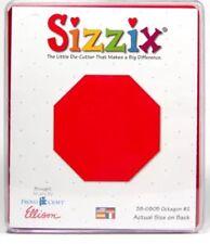 Sizzix Die Octagon#2 Originals Scrapbook Diecut Retired NEW Case Stop Sign Craft