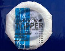 "2pcs 15"" Tire 3"" Wide White Wall portawall ford mopar vw chevy car truck hot rod"