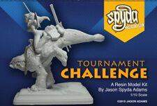 Tournament Challenge-  Resin Model Kit by Spyda (Sexy female fantasy dinosaur)