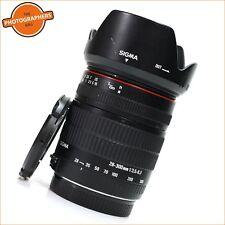 Sigma AF 28-300 mm f3.5-6.3 Macro Lens. canon + Free Uk Postage