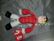"Rare 13"" Popeye Plush Doll New Tags Christmas Soldier 2004"