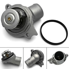 Engine Coolant Thermostat + Seal For Mercedes-Benz ML350 2003-05, S350 2006 3.7L
