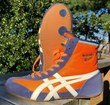 Onitsuka Tiger 81 Wrestling Shoes (2003) Size 6.5 Orange Blue White Rare ASICS