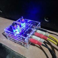 HiFi 6J1 Tube Preamplifier Amplifier Board Class A Pre Amp Crystal Shell  S1