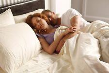 PureCare® luxurious supersoft bamboo & cotton sateen sheet set, white, twin