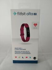 NEW SEALED Fitbit Alta HR Activity Tracker - Large - Fuchsia