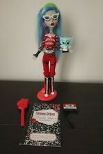 Monster High Genuine 1st Wave 2010 Ghoulia Yelps Doll Complete