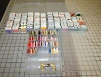 Large Lot Cotton Carded Thread Embroidery Floss 3 Boxes