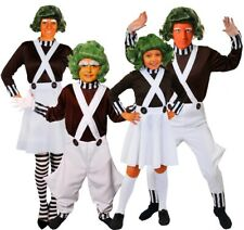 ADULTS & CHILDS FACTORY WORKER COSTUMES CHOCOLATE BOOK DAY CHARACTER FANCY DRESS