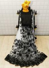 Sari Embroidery Net Saree Indian Wear Ethnic Wedding Party Designer Work Blouse