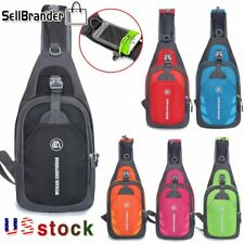 Outdoor Travel Sport Sling Backpack Chest Pack Cycle Crossbody Shoulder Bags USA