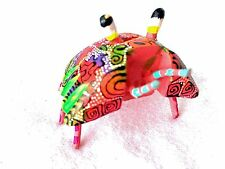 GREAT MULTICOLOR CRAB -  HAND-PAINTED WOOD CARVING (ALEBRIJE) -OAXACA, MEXICO