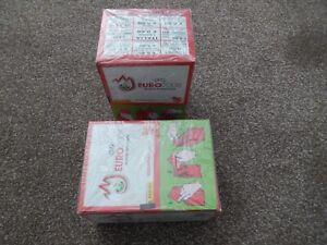 Panini Euro 2008 Sealed box of 100 stickers (x2)