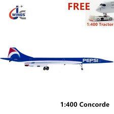 (Very Rare)1:400 JC Wings XX4906 AIR FRANCE Concorde F-BTSD PEPSI+ Free Tractor