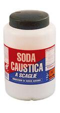 Soda caustica a scaglie caustika in barattolo da 1 kg disgorgante detergente