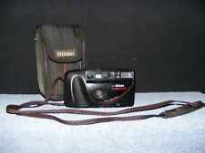 Vintage Nikon One Touch 100 35mm Camera with Cloth Case.