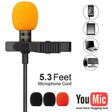 Lapel Lavalier TYPE-C 3.5MM Microphone For Youtube Video Recording Mic iPhone