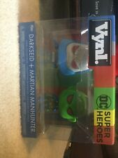 Darkseid And Martian Manhunter Funko Vynl 2 pack