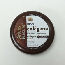 Andes Nature Collagen Snail Cream Crema Baba De Caracol Colageno 5.1 oz