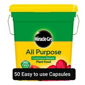 50 x Fast Growing Miracle Gro All Purpose Slow Release Plant Food Tablets. AAA**
