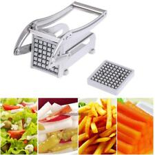 Stainless Steel French Fry Potato Vegetable Cutter Maker Kitchen Slicer Chopper