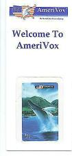 Animals Whales 2 AmeriVox Collectible Phone Card