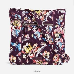 Vera Bradley Iconic Hipster Indiana Rose Crossbody Bag NWT $70