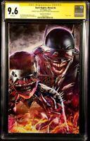 DARK NIGHTS METAL #6 CGC SS 9.6 X2 GREG HORN CAPULLO VIRGIN BATMAN JOKER HARLEY