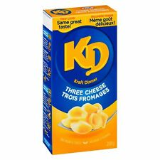 12 X Kraft DINNER 3 Three Cheese FULL SIZE 225g/ 7.9oz Mac N Cheee- Canada FRESH