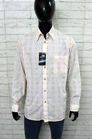 Camicia MARLBORO CLASSIC Uomo Taglia Size XL Shirt Man Maglia PARI AL NUOVO