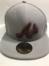 Atlanta Braves 59FIFTY New Era Official National League fitted 7 5/8 RARE