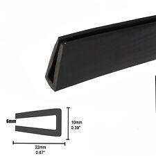 Flexible Soft Rubber Seal Trim U Channel Strip Car Van Door Sharp Edge Guard 3Ms