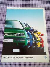 VW Golf Colour Concept 1996