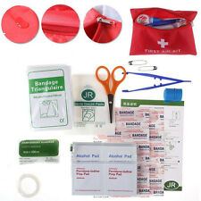 34 Piece First Aid Emergency Kit Tool Car Auto Medical Camping Home Travel Sales