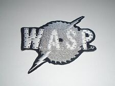 W.A.S.P. WASP IRON ON EMBROIDERED PATCH