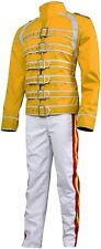 Freddie Mercury Costume Yellow Jacket White Pants Large