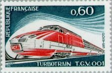 FRANCE - 1974 - The Turbo-Train - MNH Commemorative Stamp - Sc. #1392