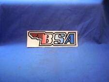 "BSA -100 Decal Vintage 9 1/4"" x 3  NOS  NP7219"
