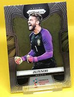 Alisson Becker Brazil Panini Prizm World Cup 2018 Base Card #37 Liverpool GK