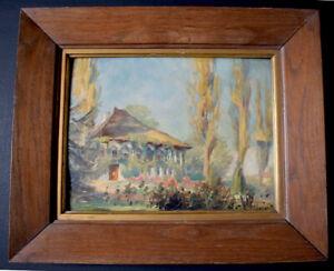 Landschaft Haus Park Post Impressionist Xx Zum Identifizieren