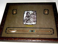 Judy Larson Print 'A Time To Heal'w/Repro. Native American Artifacts/Framed/Mint